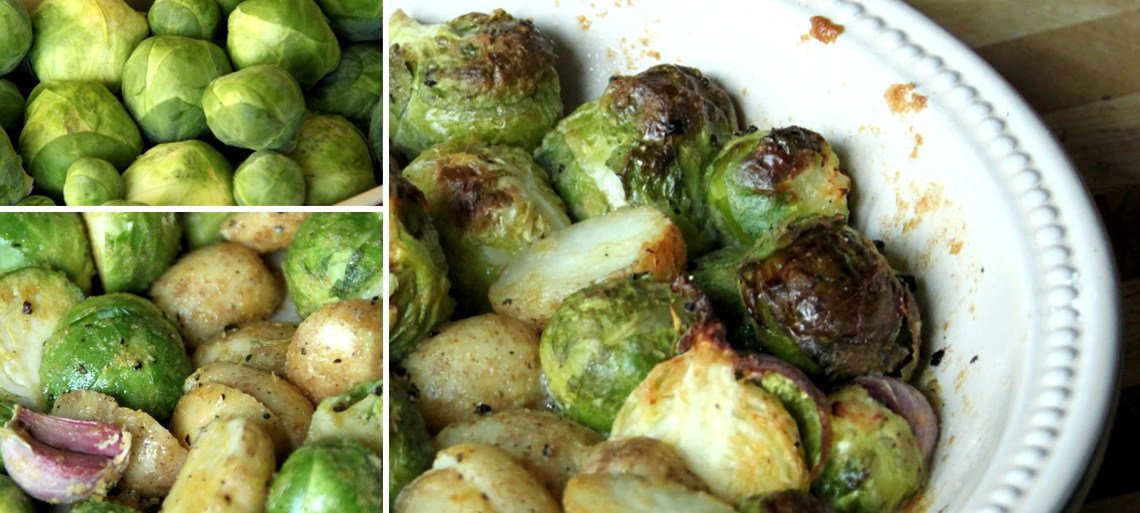 how to cook brussel sprouts without smell