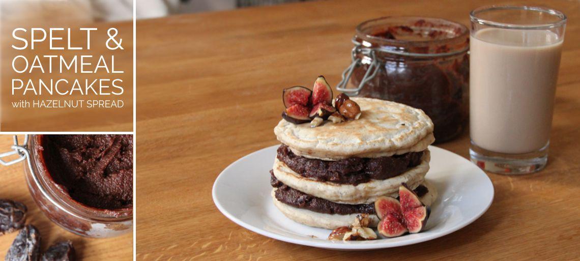 Spelt Oatmeal Pancakes 001