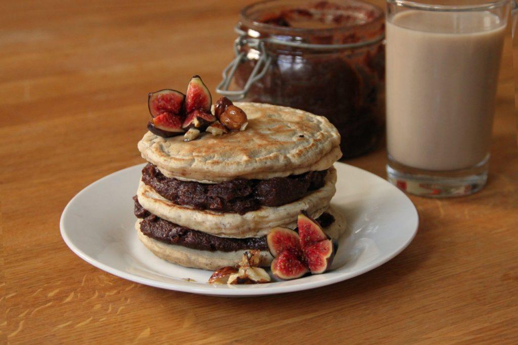 Spelt & Oatmeal Pancakes