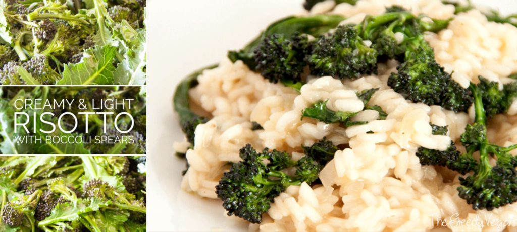risotto with broccoli