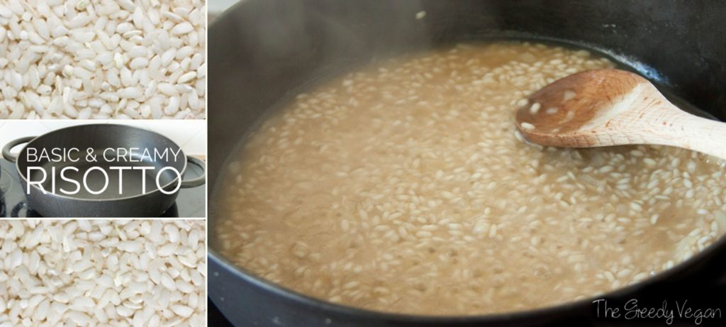 basic and creamy risotto