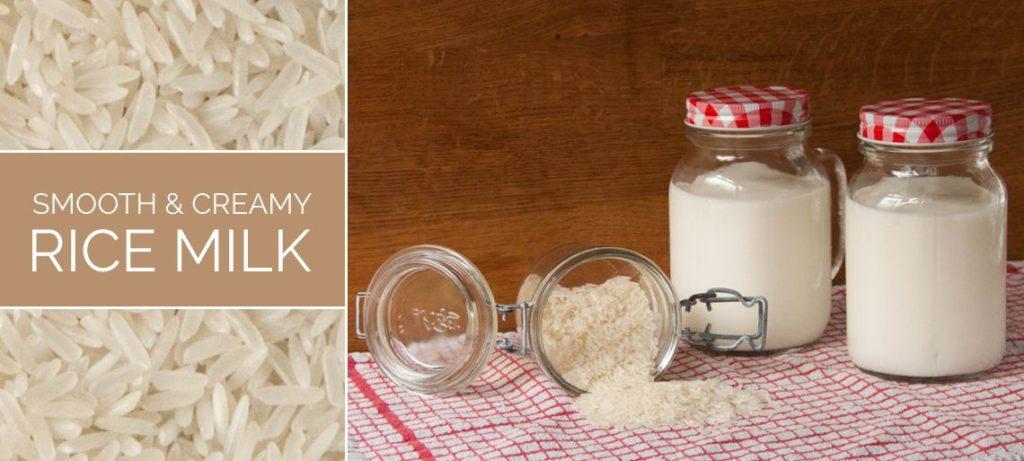 creamy rice milk