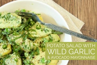 WILD GARLIC POTATO SALAD
