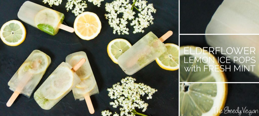 Elderflower Ice Pops