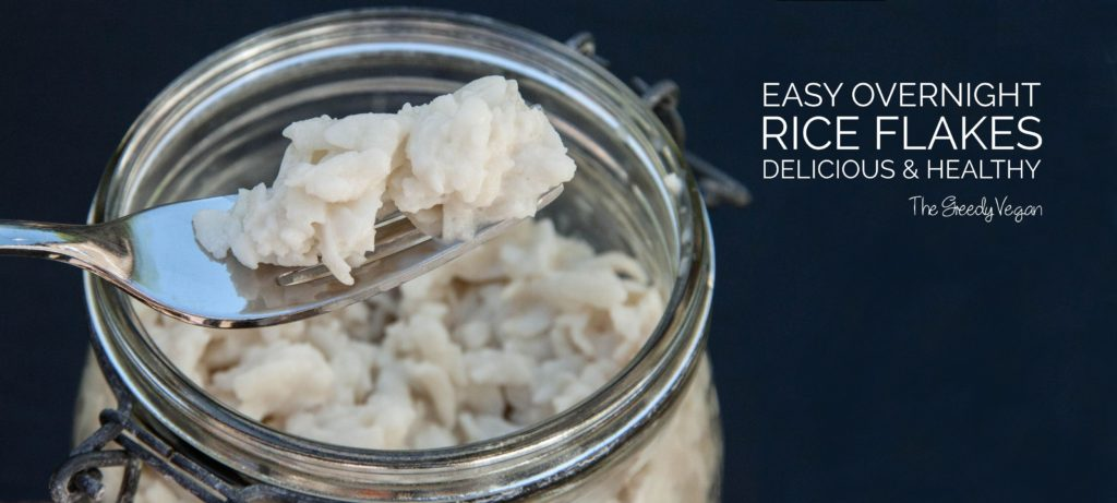 How to make Overnight Rice Flakes