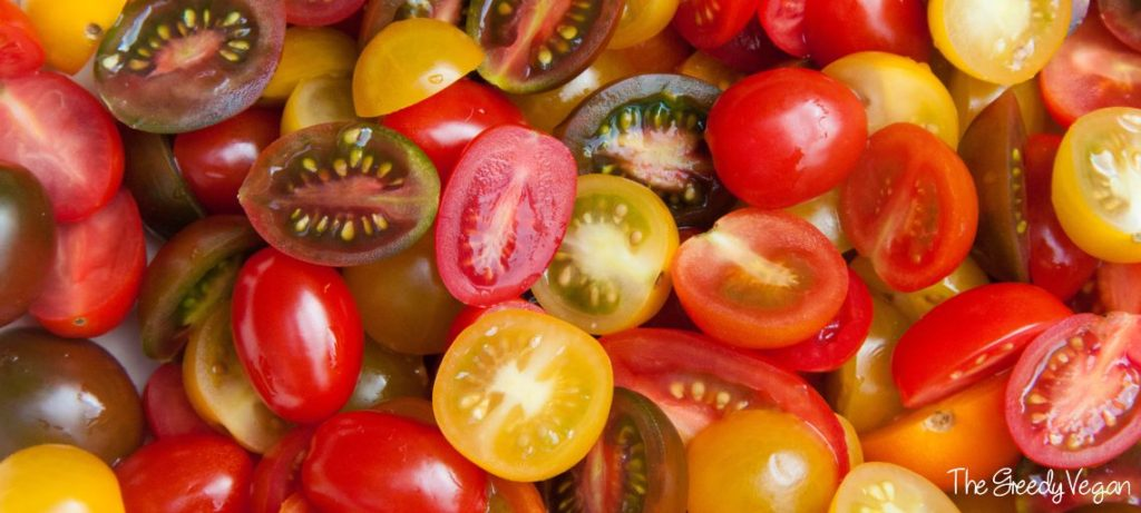 Herby Mixed Tomato Salad 001