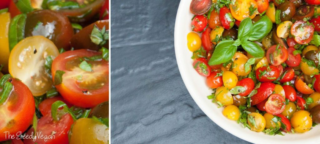 Herby Mixed Tomato Salad 003