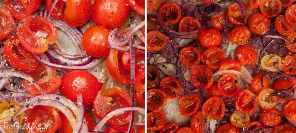Oven roasted heirloom tomatoes 002