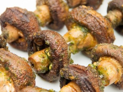 Recipe for Grilled Mushroom Skewers | Recipe | Delicious