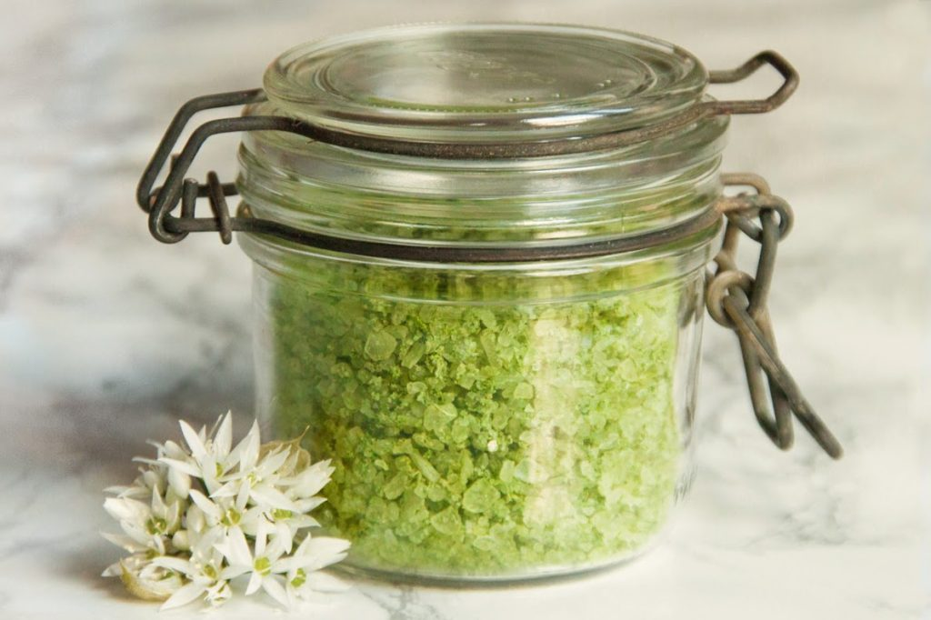 Wild Garlic Salt