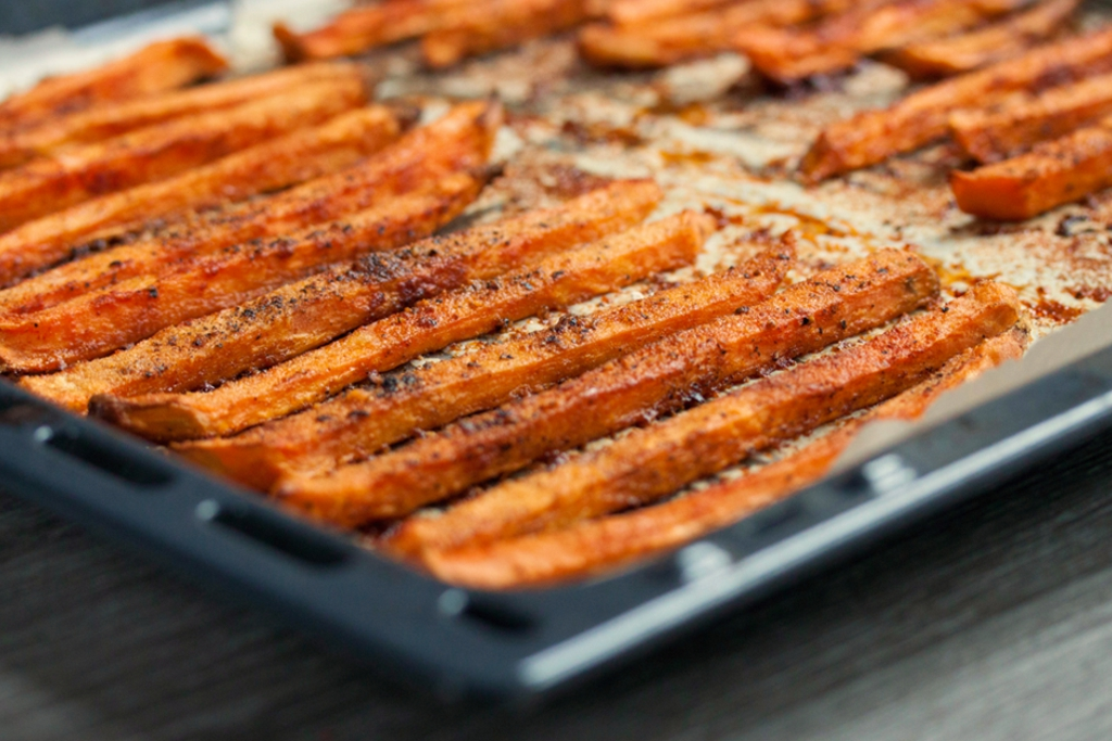Perfect Crispy Sweet Potato Fries