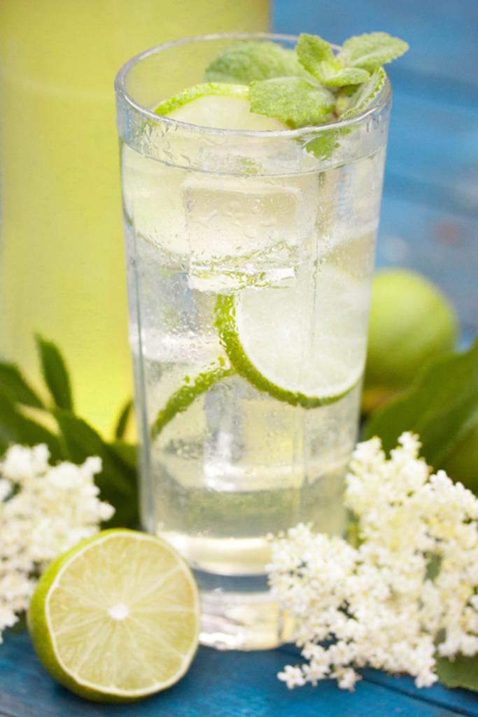 Lime and Elderflower Cordial