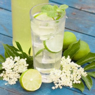 Lime and Elderflower Cordial
