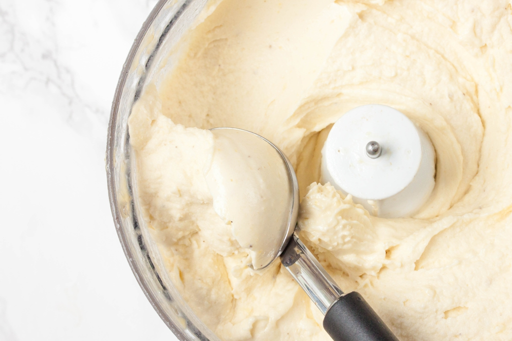 Creamy No-Churn Pineapple Ice Cream