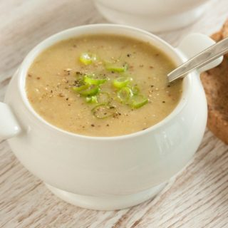 Hearty Potato and Mustard Soup