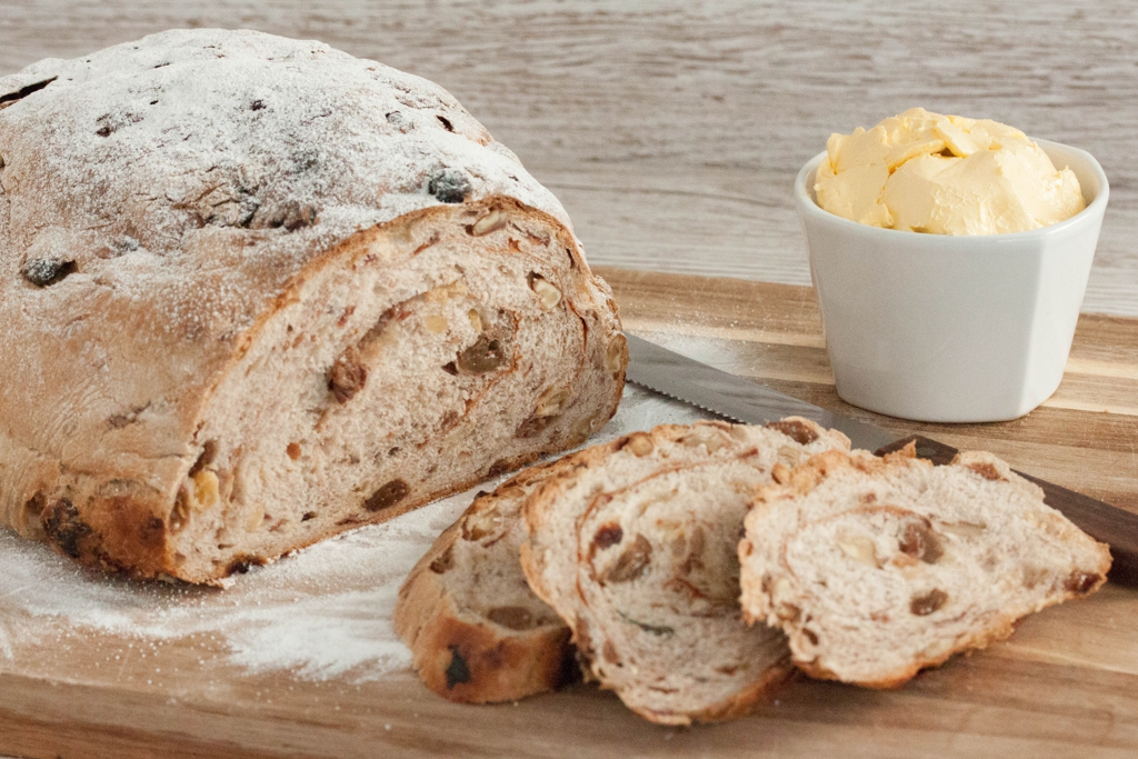 Rustic Raisin Bread