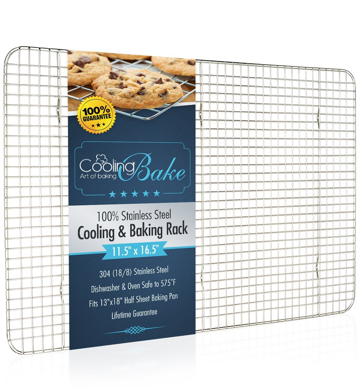 CoolingBake Stainless Steel Wire Cooling and Baking Rack | The ...